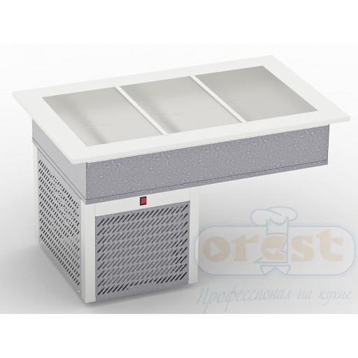 Прилавок охлаждаемый CD-3GN1/1(built-in)