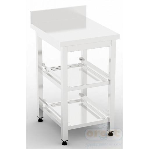 Стол для хранения корзин посудомоечной машины (с двумя полками) ВМ2-2