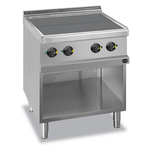 Плита 4-х конфорочная напольная без духовки Apre-77QP