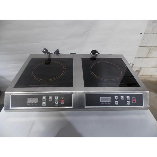 Индукционная плита на две конфорки MEMO2