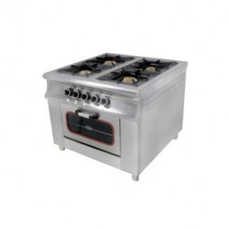 Плита 4-х конфорочная с духовым шкафом газовая М015-4(40х40)