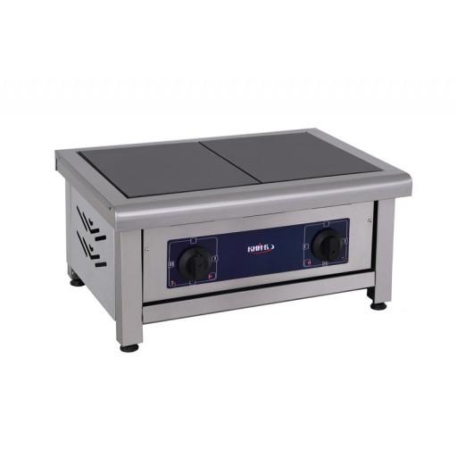 Плита 2-х конфорочная настольная без духовки ПЕ-2Н