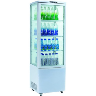 Шкаф-витрина холодильный RT215L EWT INOX
