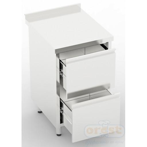 Стол-тумба (2 выдвижные ящики) CSW-1.2-D