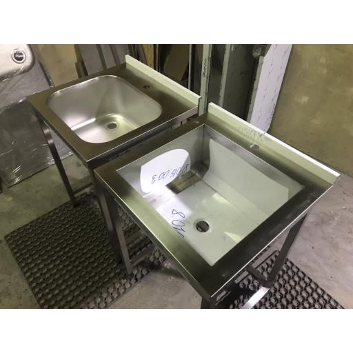 Ванна моечная сварная трехсекционная 1500х700х850