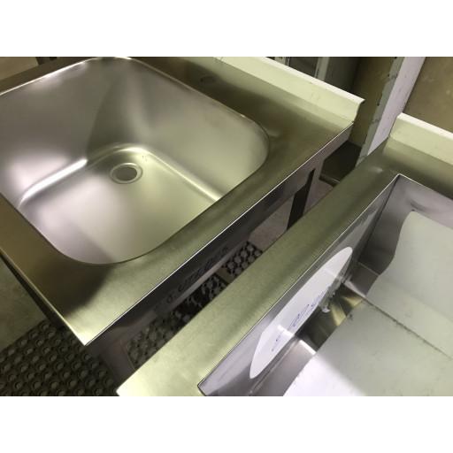 Ванна моечная сварная двухсекционная 1100х500х850
