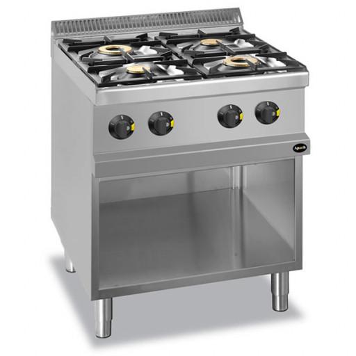 Плита 4-х конфорочная напольная без духовки газовая APRG-77P