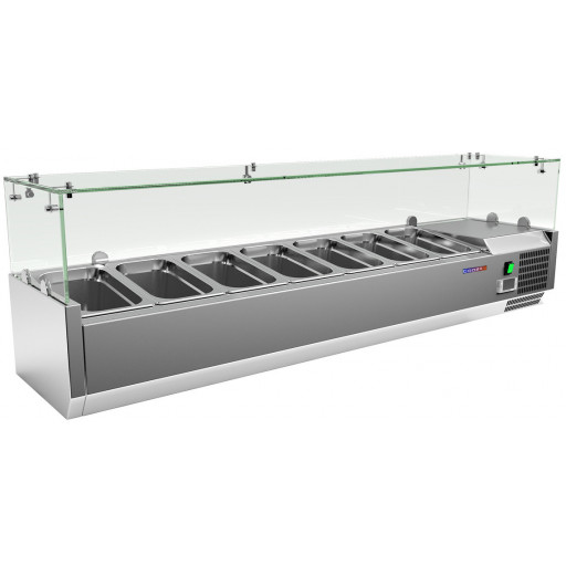 Витрина холодильная COOLEQ VRX 1500/330