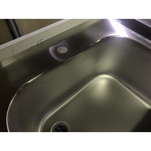 Моечная ванна 2-х секционная с полкой