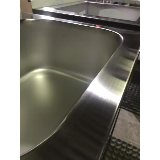 Ванна моечная сварная трехсекционная 1700х500х850